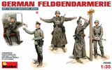 MiniArt 1/35 German Military Police (5 Figures) Kit