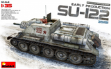 MiniArt 1/35 Soviet Su122 Early Production Self-Propelled Tank Kit