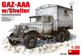 MiniArt Military  1/35 GAZ-AAA Truck w/Shelter Kit