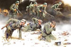 Master Box Ltd 1/35 German PzGrenadiers Set #2 1939-42 (7) Kit