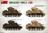 MiniArt 1/35 M3 Grant Mk1 Tank w/Full Interior (New Tool) Kit