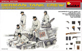 MiniArt Models 1/35 WWII German Tank Crew Winter Uniforms (5) w/Weapons Special Edition Kit