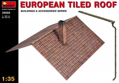 MiniArt 1/35 European Tiled Roof Kit
