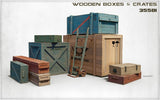 MiniArt Military 1/35 Wooden Boxes & Crates Kit