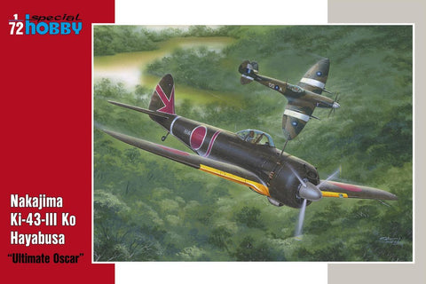 Special Hobby Aircraft 1/72 Nakajima Ki43 III Ko Hayabusa Ultimate Oscar Fighter Kit