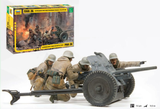 Zvezda 1/35 German Anti-Tank Pak 36 Gun w/4 Crew Kit