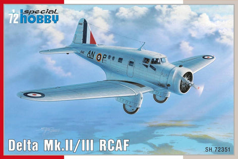Special Hobby Aircraft 1/72 Delta Mk II/III RCAF Aircraft Kit