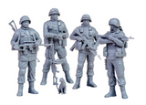 Zvezda 1/35 Russian Modern Infantry (4 Soldiers) & Cat Kit