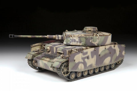 Zvezda Military 1/35 German Medium Tank Panzer IV AUSF. G Kit