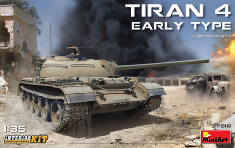 MiniArt Military 1/35 Tiran 4 Early Type Tank w/Full Interior (New Tool) Kit