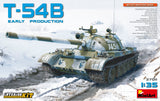 MiniArt Military 1/35 T54B Soviet Medium Early Production Tank w/Full Interior Kit