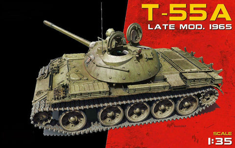 MiniArt Military 1/35 T55A Late Mod 1965 Tank Kit