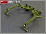 MiniArt 1/35 BMR1 Early Mod Mine Clearing Armored Vehicle w/KMT5M Mine Plow (New Tool) Kit