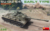 MiniArt 1/35 Soviet Su122-54 Early Type Self-Propelled Howitzer T54 Tank Chassis Kit