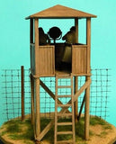 Master Box Ltd 1/35 Watch Tower w/4 Figures Kit