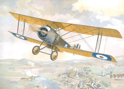 Roden Aircraft 1/48 Sopwith 1-1/2 Strutter Single-Seater WWI British BiPlane Bomber Kit