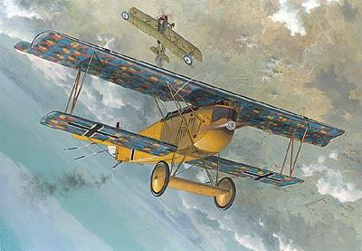 Roden 1/48 Fokker D VII F German BiPlane Fighter Kit