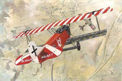 Roden 1/48 Fokker D VII (OAW Early) WWI German BiPlane Fighter Kit