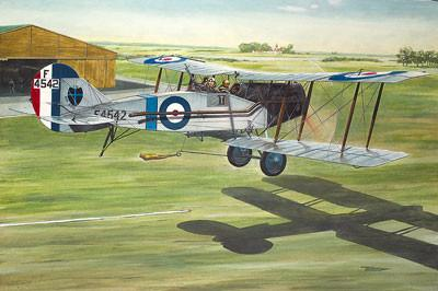 Roden 1/48 Bristol F2b MkIV WWI RAF BiPlane Fighter Kit