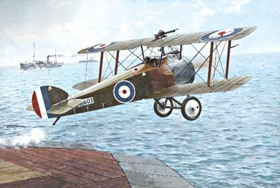 Roden 1/72 Sopwith Camel 2F1 Royal AF Fighter Kit
