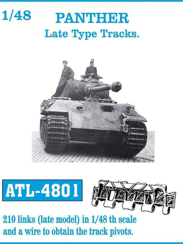 Friulmodel Military 1/48 Panther Late Track Set (210 Links)