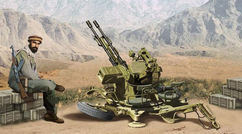 Ace Military Models 1/48 ZU23-2 Anti-Aircraft Gun Kit