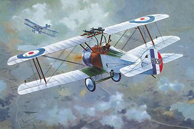 Roden 1/72 Sopwith F1/3 Comic Special Version WWII British BiPlane Fighter Kit