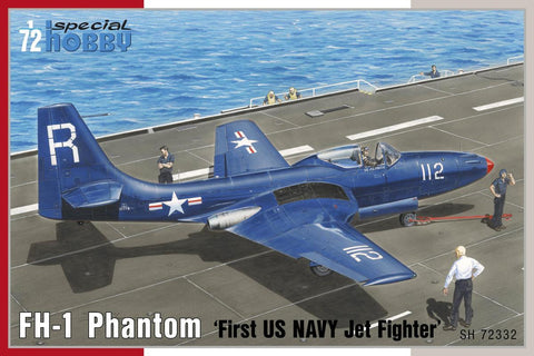 Special Hobby Aircraft 1/72 FH1 Phantom First US Navy Jet Fighter Kit
