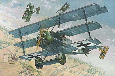 Roden 1/32 Fokker FI WWI German Triplane Fighter Kit
