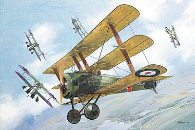 Roden 1/32 Sopwith WWI British Triplane Fighter Kit