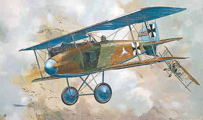 Roden 1/32 Albatros D I WWI German Pursuit BiPlane Fighter Kit