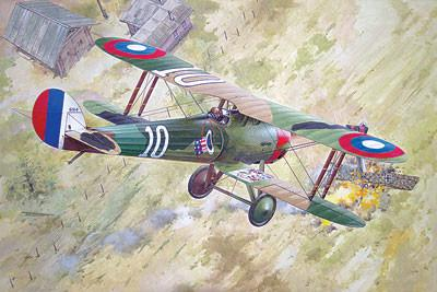 Roden 1/32 Nieuport 28c1 WWI French BiPlane Fighter Kit