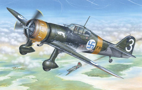 Special Hobby Aircraft 1/48 Fokker D XXI 3.Sarja Fighter Kit