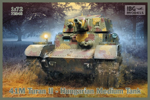 IBG Military Models 1/72 41M Turan II Hungarian Medium Tank Kit