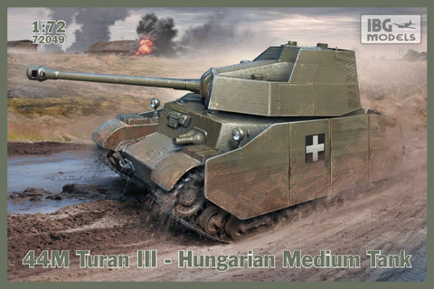 IBG Military 1/72 44M Turan III Hungarian Medium Tank Kit
