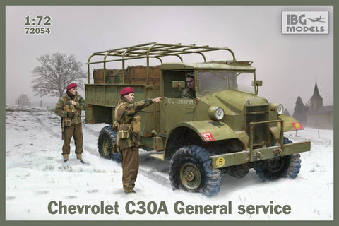 IBG Military 1/72 Chevrolet C60S Cab w/Holmes Breakdown Wrecker (No 11 & No 13 Cab Versions) Kit