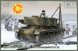 IBG Military 1/72 Bergepanzer III German Armored Recovery Vehicle Kit