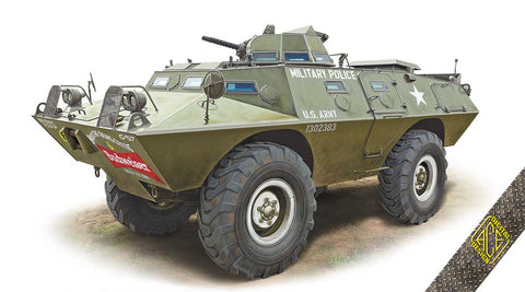 Ace Military 1/72 XM706E1 (V100) Commando Armored Patrol Car Kit