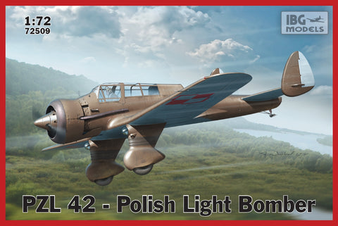 IBG Aircraft 1/72 PZL42 Polish Light Bomber Kit