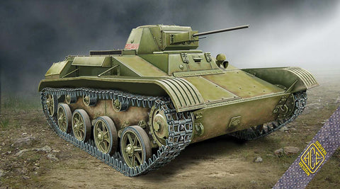 Ace 1/72 T60 (Zavod #264 Mod 1942) Soviet Light Tank Kit