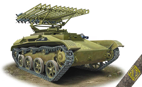 Ace 1/72 BM8-24 Katiusha Multiple Rocket Launcher on T60 Chassis Kit