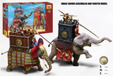 Zvezda 1/72 War Elephants III-I BC (2 & 7 Figs) Kit