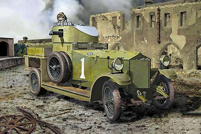 Roden Military 1/35 Pattern 1914 British Armored Car Kit