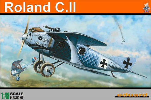 Eduard Aircraft 1/48 Roland CII German BiPlane Profi-Pack Kit