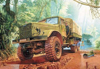 Roden Military 1/35 KrAZ214B Off-Road Transport Military Truck Kit