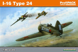 Eduard Aircraft 1/48 Polikarpov I16 Type 24 Fighter (Re-Issue) Kit