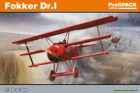 Eduard Aircraft 1/48 Fokker Dr I Fighter Profi-Pack Kit