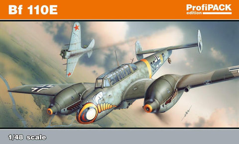 Eduard Aircraft 1/48 Bf110E WWII German Heavy Fighter Profi-Pack Kit