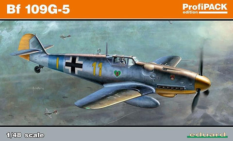 Eduard Aircraft 1/48 Bf109G5 Fighter (Profi-Pack Plastic Kit)