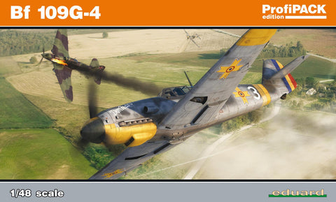 Eduard Aircraft 1/48 Bf109G4 German Fighter Profi-Pack Kit